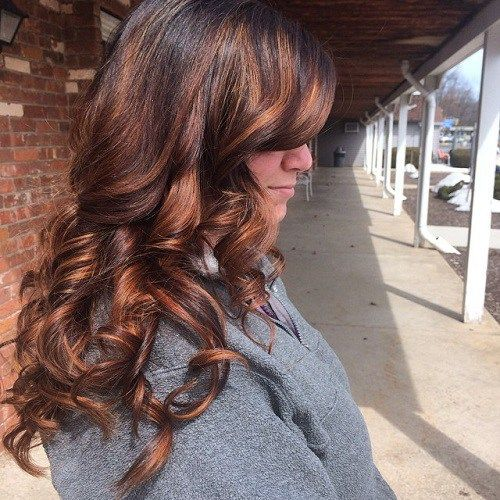 60 hairstyles featuring dark brown hair with highlights brown 60 hairstyles featuring dark brown hair with highlights pmusecretfo Image collections