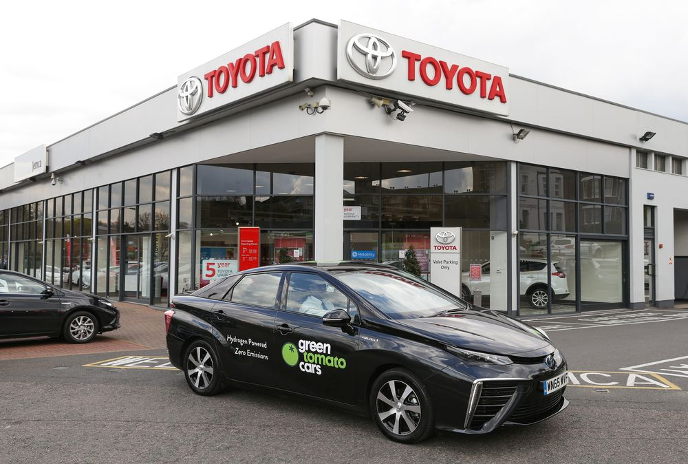 First ever UK service for Toyota's Mirai hydrogen car