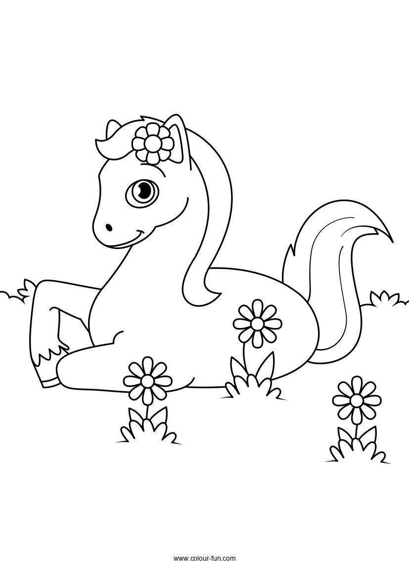 18++ Printable horse coloring pages pdf ideas in 2021