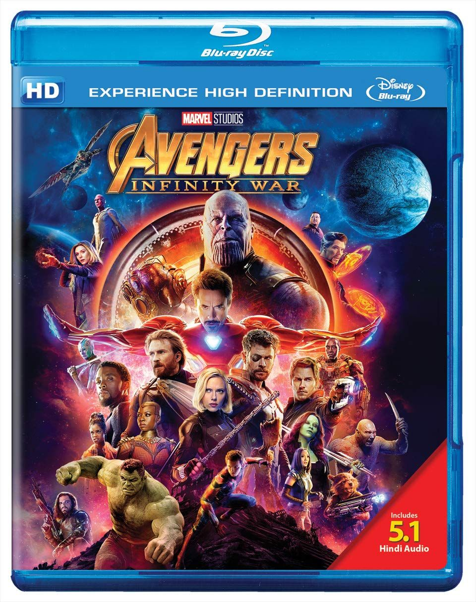Infinity War Blu Ray 3d Including Hindi Audio 5 1 Channel