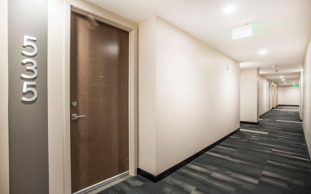Apartment Building Hallway Design