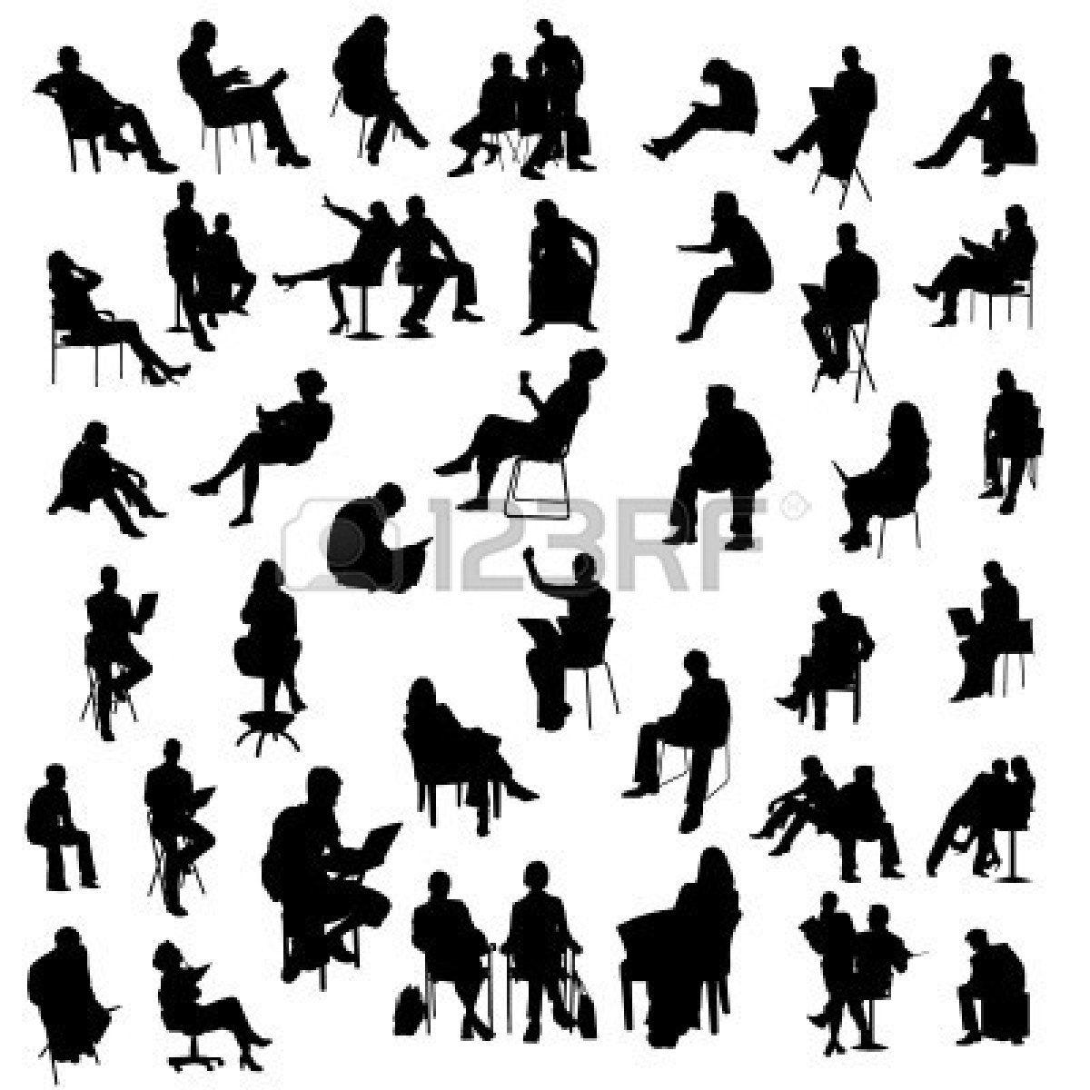 8060238-set-of-sitting-people-silhouette.jpg | Photoshop ...