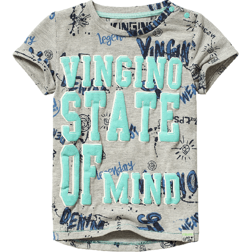 Camiseta Estampada Hias Grey Light Melee H8wqR7
