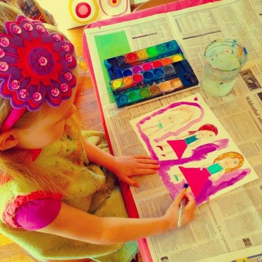 A Visit from Pigment School of the Arts Dallas, Texas  #Kids #Events