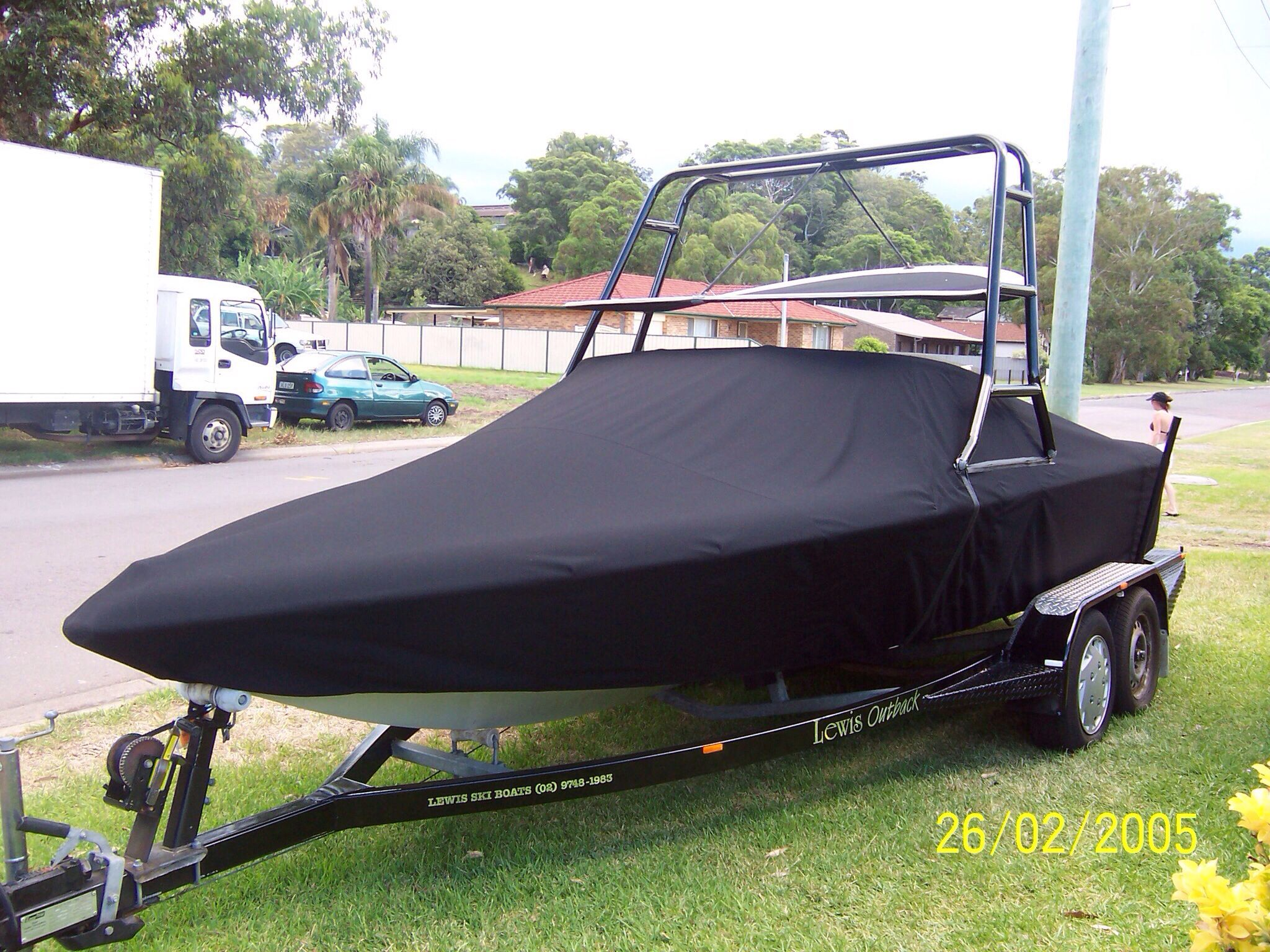 Ski Boat Cover Lodka Chehly