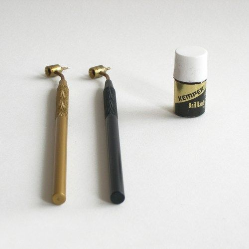 Kemper Brilliant Liquid Gold Adds 22k to Glass and Ceramic Art Craft