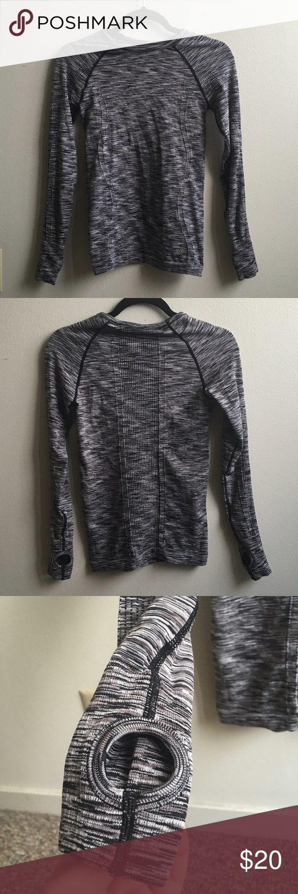 ‼️LAST CHANCE‼️NWOT Activewear shirt Brand new without tag long sleeve activewear shirt from Forever 21. Super warm and comfortable. Stretchy material and form fitting. Forever 21 Tops