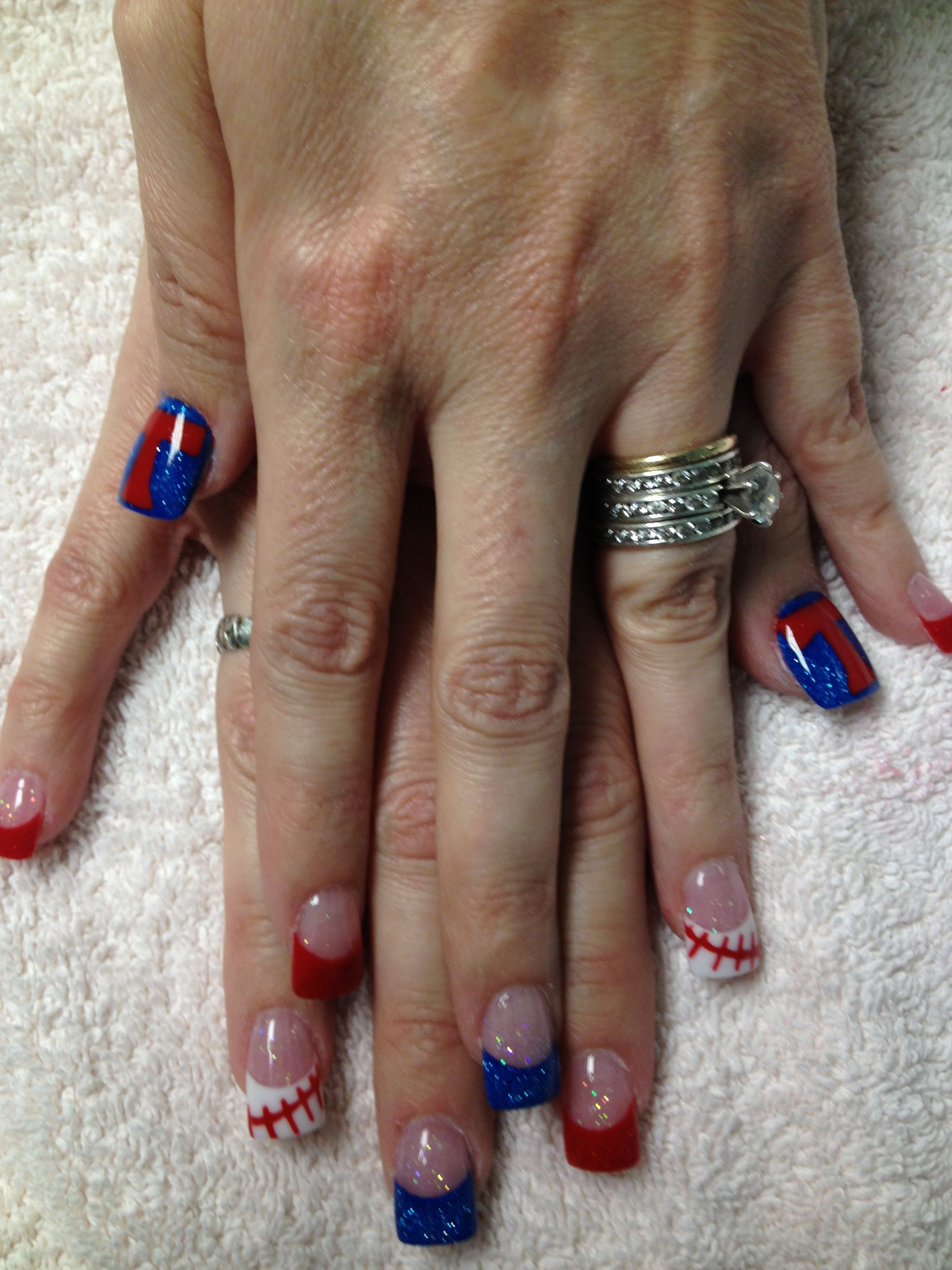 New Nails All Done By Powder