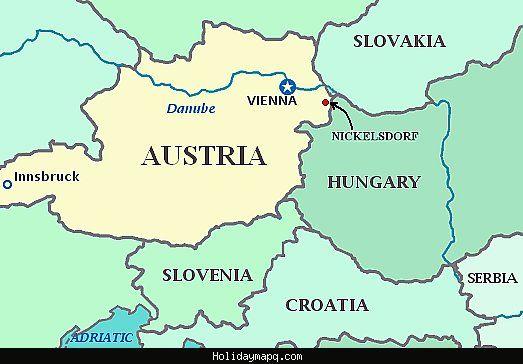 awesome Map of Nickelsdorf | Map, Innsbruck, Croatia