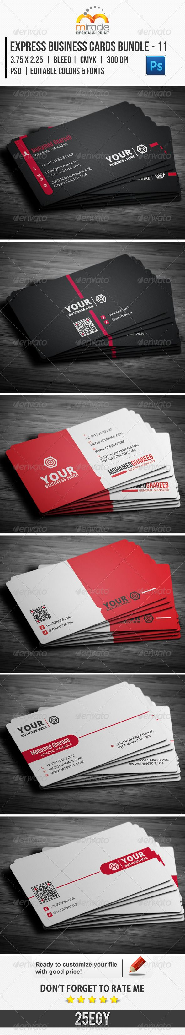 Business card express unlimitedgamers express business cards bundle 11 creative 11 and business cards colourmoves