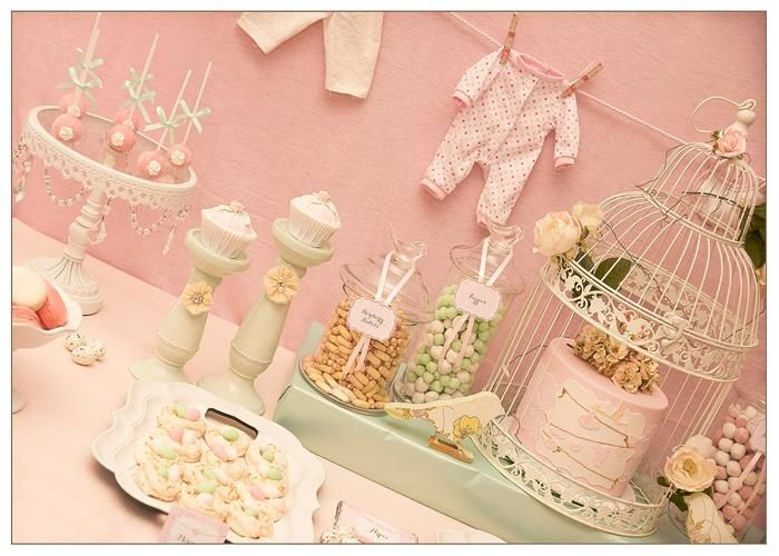 Vintage Birdie Baby Shower Party Planning Ideas Supplies Idea Cake