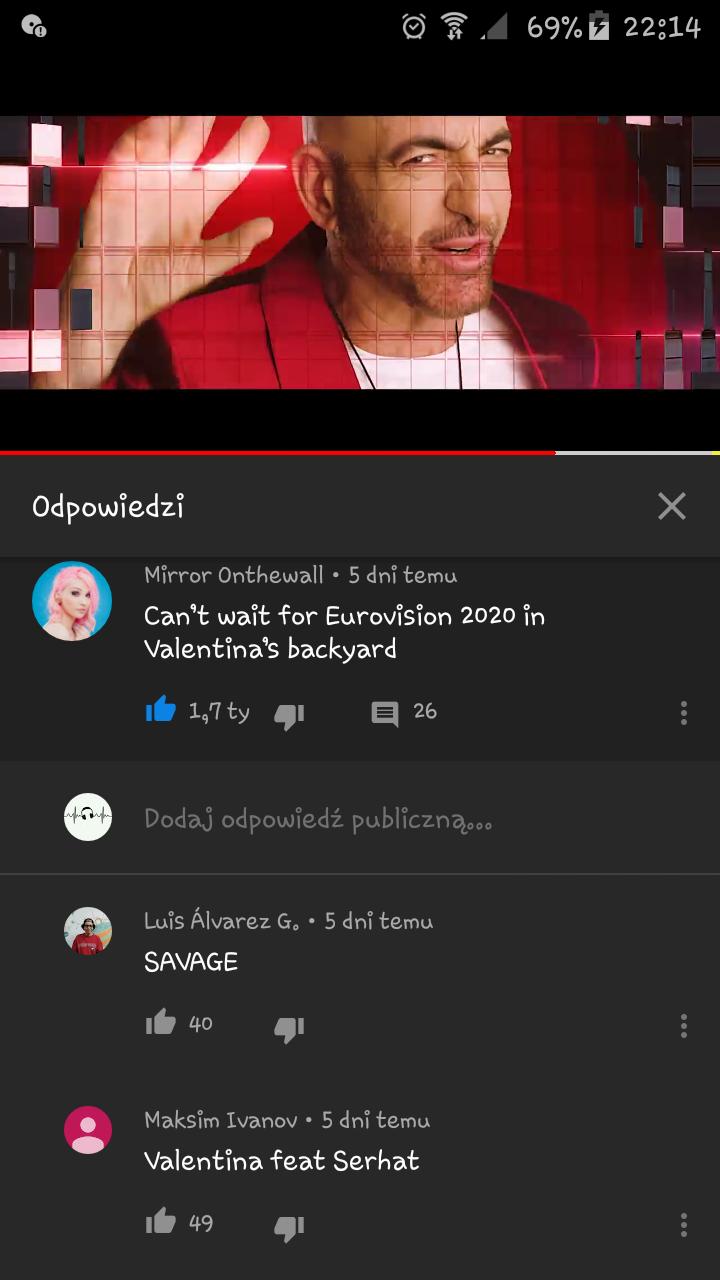 Esc 2019 Meme Funny San Marino Serhat Say Na Na Na Eurovision Song Contest Eurovision Songs