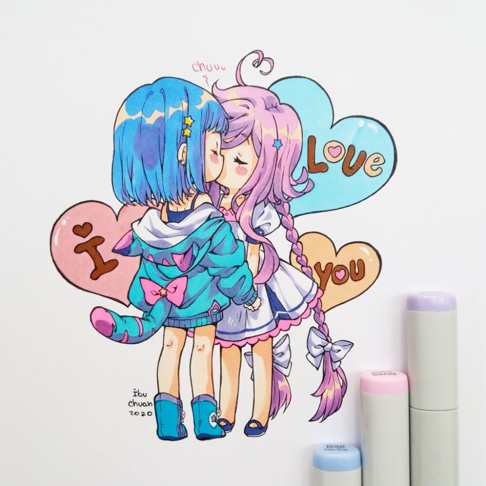 Pin by bob bin on ibu chuan in 2020 Anime, Instagram, Art