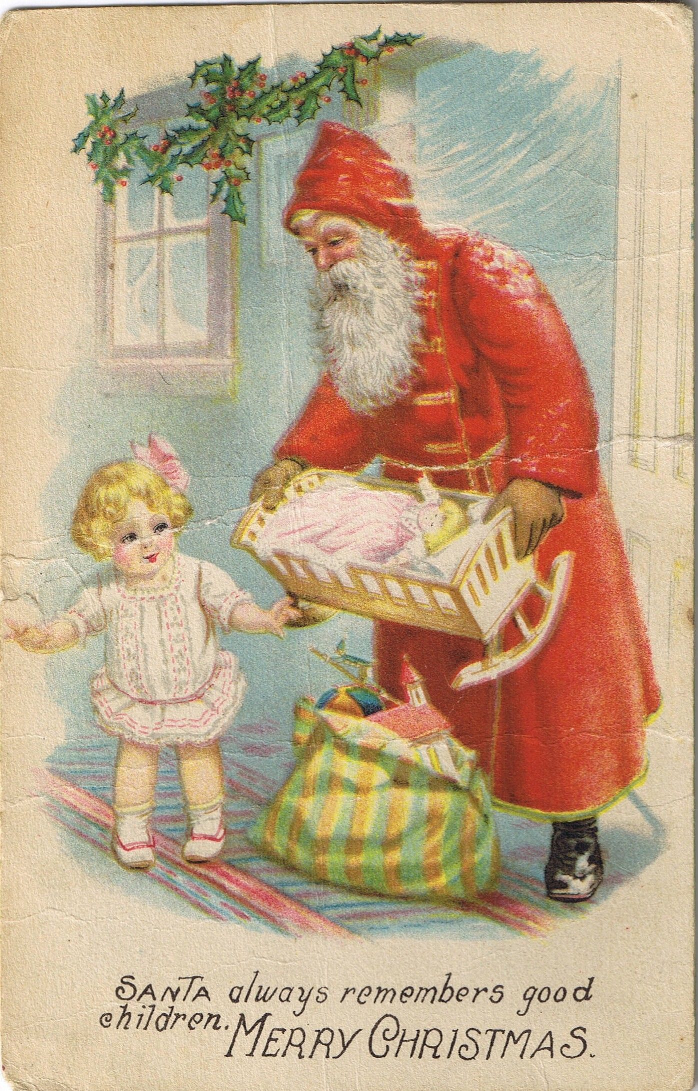merry Christmas | old christmas cards | Pinterest | Grandmothers ...