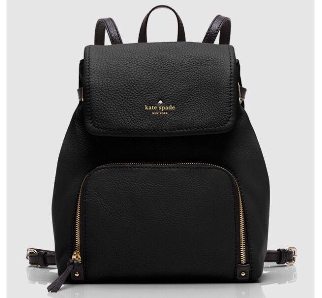 Black Kate Spade Backpack
