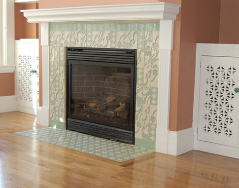 Fireplace Tile Design Ideas find this pin and more on fireplace glass tile fireplace surround design pictures Fireplace Tile Design Ideasbarbie Dream Housepinterest