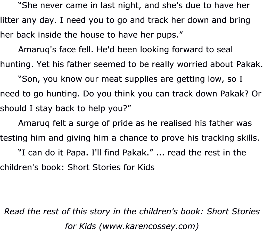 Inuit Childrens Story