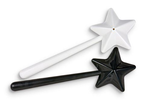 Fred Salt & Magic cruet set - one wand for salt, one wand for pepper by Fred & Friends, http://www.amazon.co.uk/dp/B005OSB0WA/ref=cm_sw_r_pi_dp_bP49rb1K0HPQA