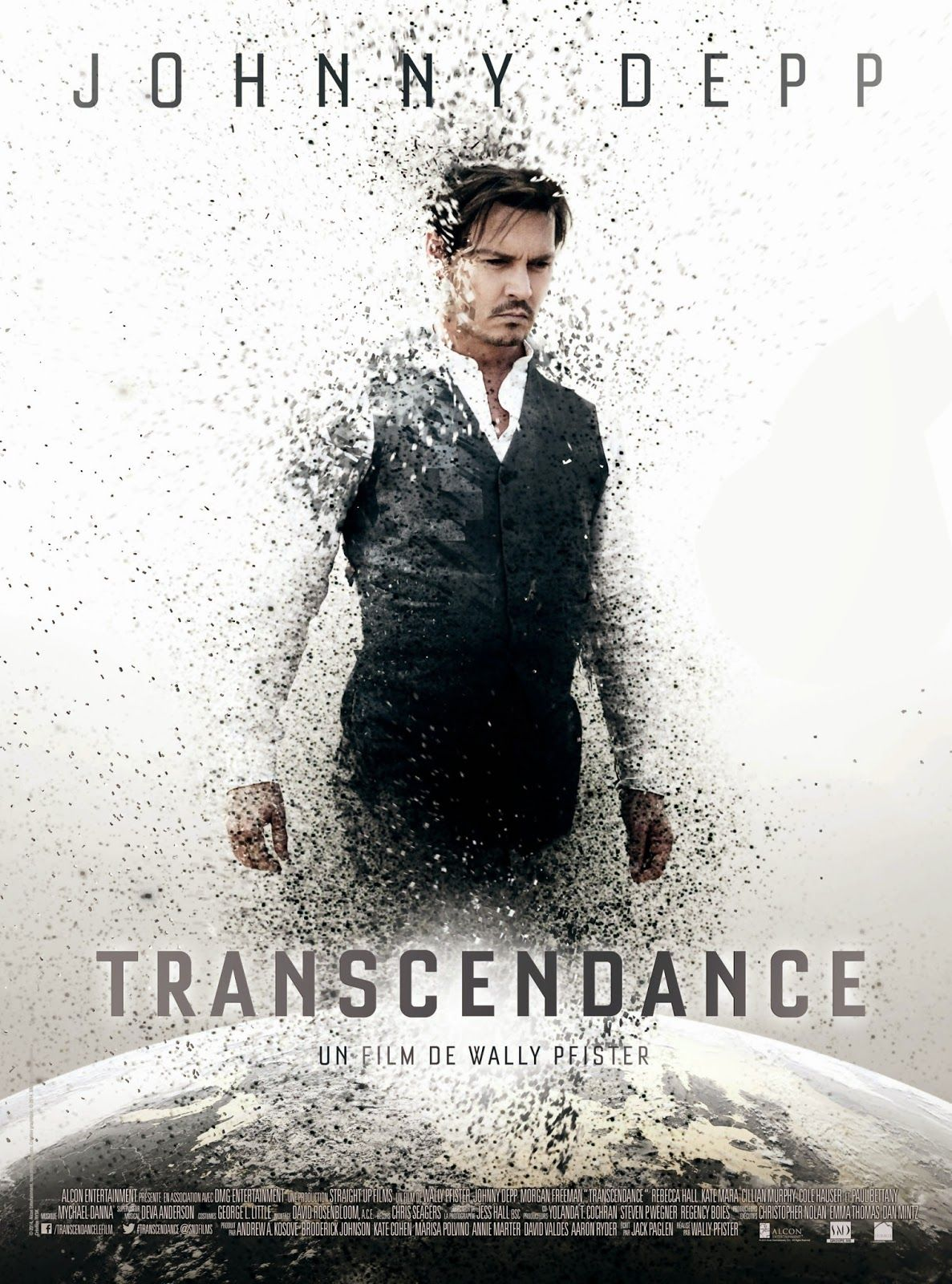 Transcendence 2014 1080p Official Movie Trailer New Movie Posters Film 2014 Johnny Depp