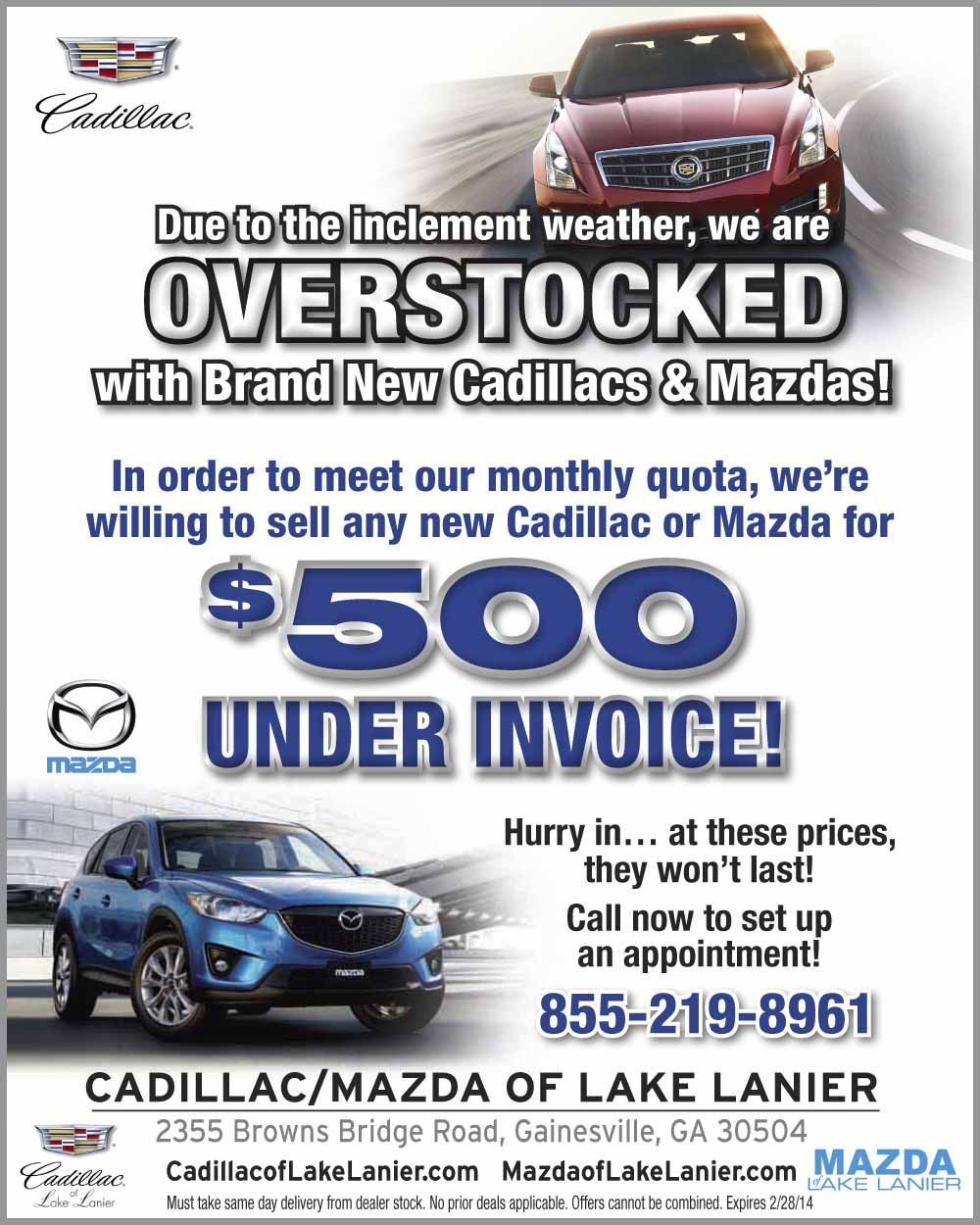 Pin On Ad Campaigns For Cadillac Of Lake Lanier
