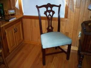 Cl Antique Chippendale Chair Dining Room Chairs Chippendale