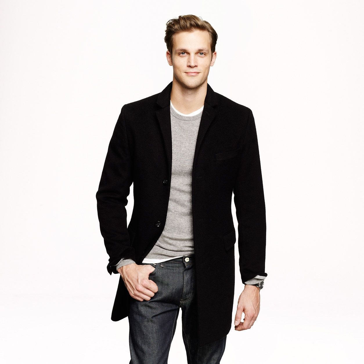 246b0a1cf63 Nice style. Ludlow topcoat in cashmere. topcoats
