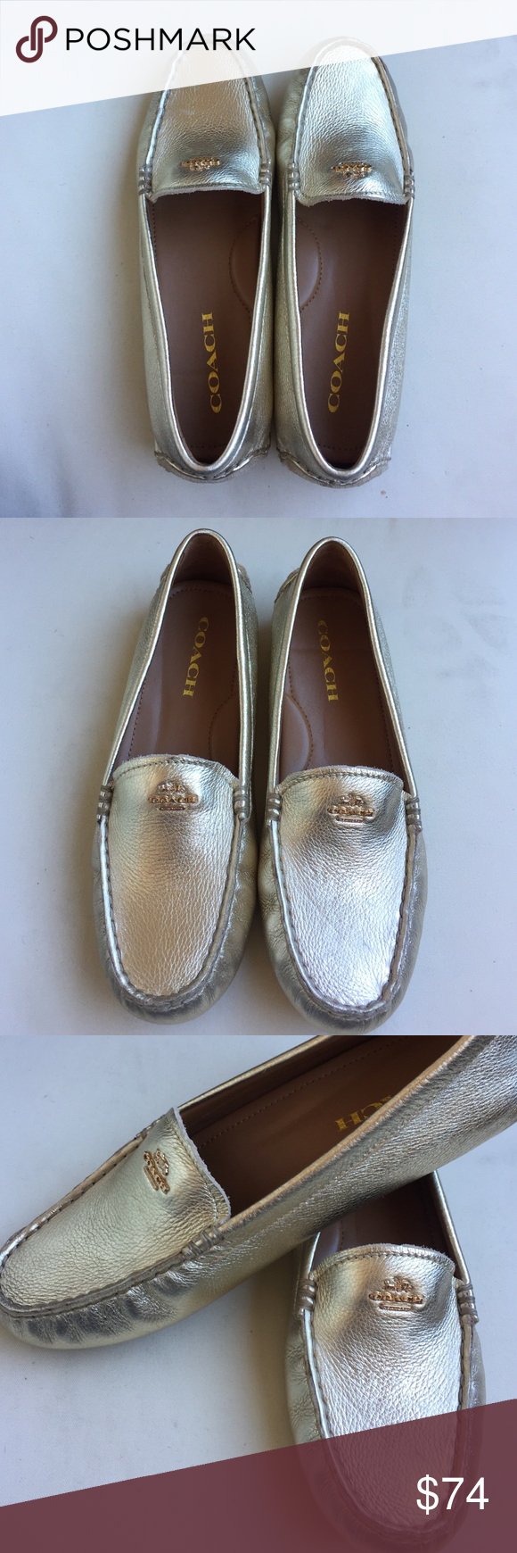 180bd04e4e2 NWOT Gold Coach Amber Loafers - 7 NWOT Gold Coach Amber Loafers ...