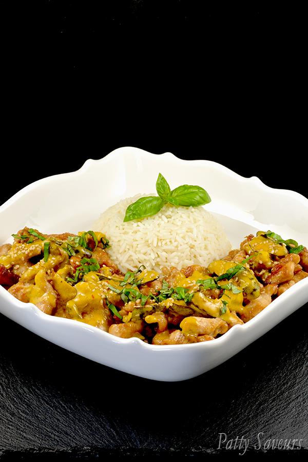 Recette Sot L'y Laisse De Dinde Curry Coco : recette, laisse, dinde, curry, Poulet, Sauté, Curry, Recette, Dinde,, Poulet,, Recettes, Cuisine