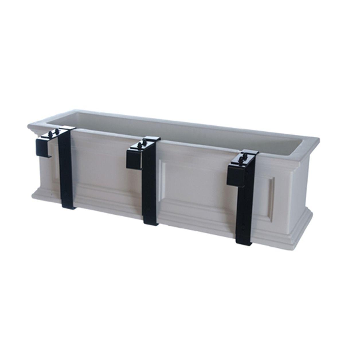 Exterior Solutions Adjustable Window Box Deck Rail Kit