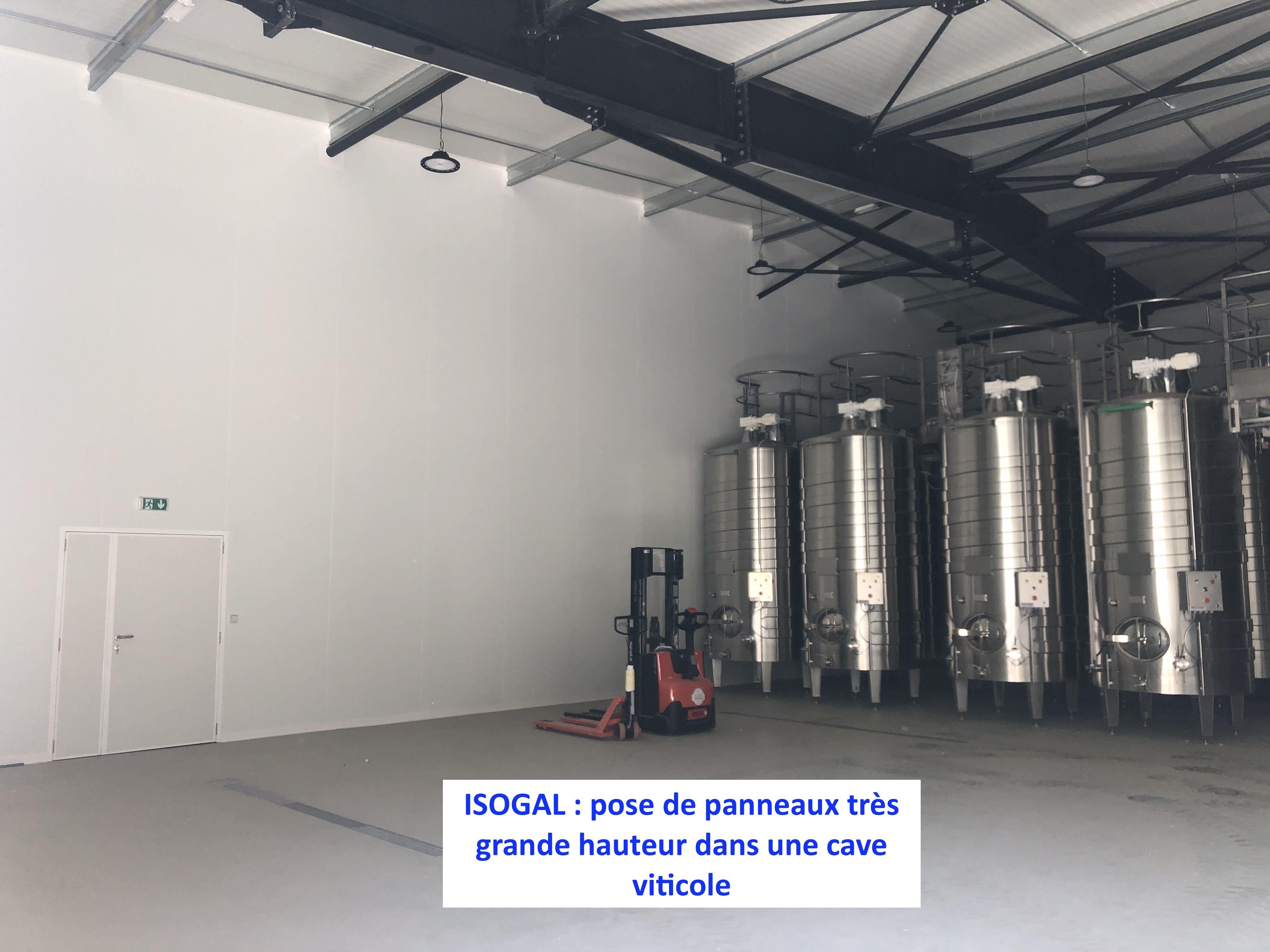 Panneaux Isothermes Pour Cave Viticole En 2020 Plaque Pvc Isolation Isotherme