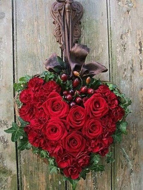 Valentinstag Deko Romantische Ideen Mit Blumen Und Obst Valentin