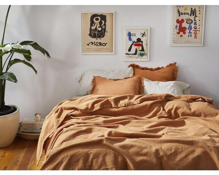 Coyuchi Loreto Organic Blanket Full Queen Indigo In 2019