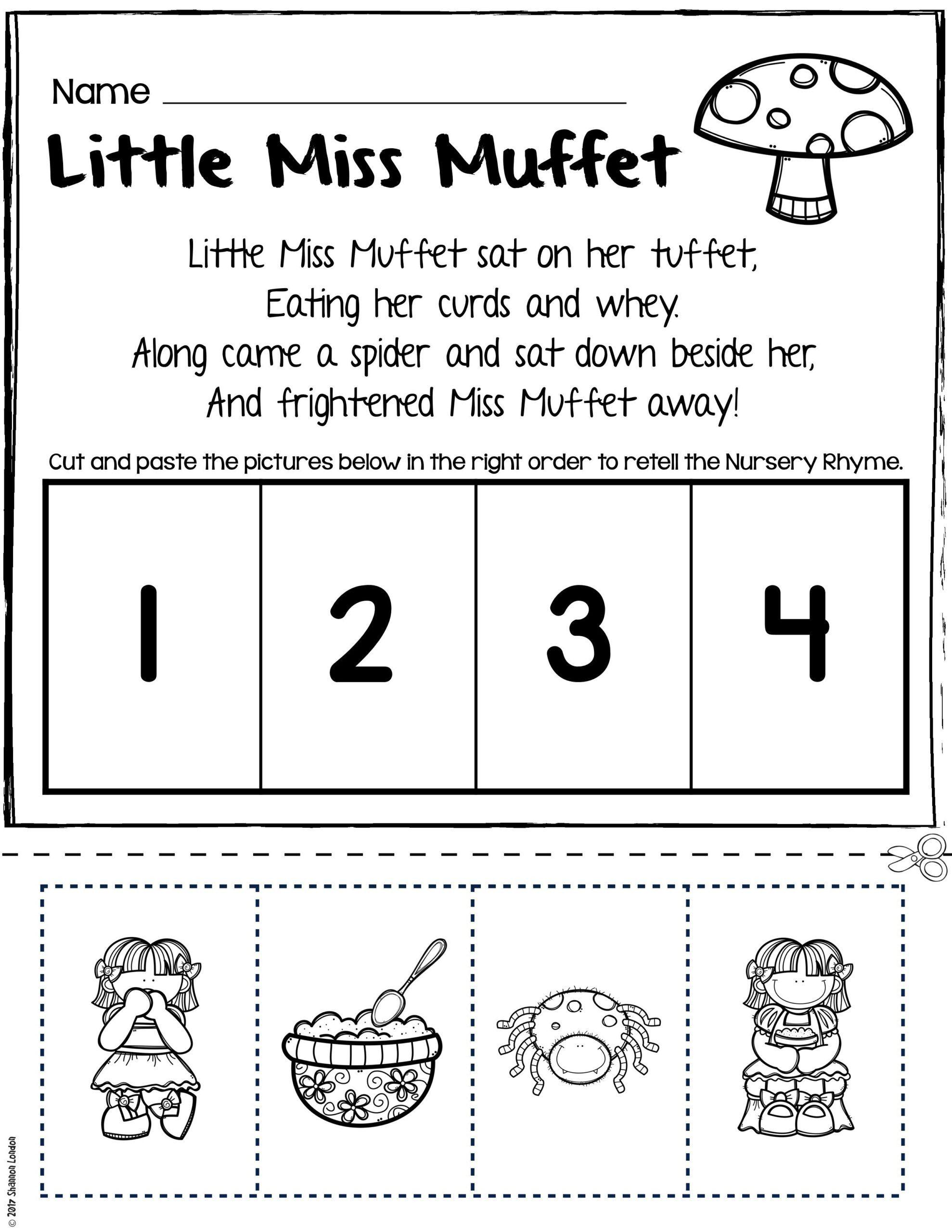 Free Rhyming Worksheets For Kindergarten Rhyming Printables For Preschool Worksheet In 2020 Rhyming Worksheet Nursery Rhymes Activities Rhyming Words Worksheets