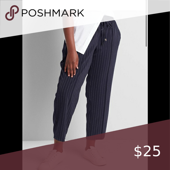 NWT Lane Bryant pull on tailored ankle pants