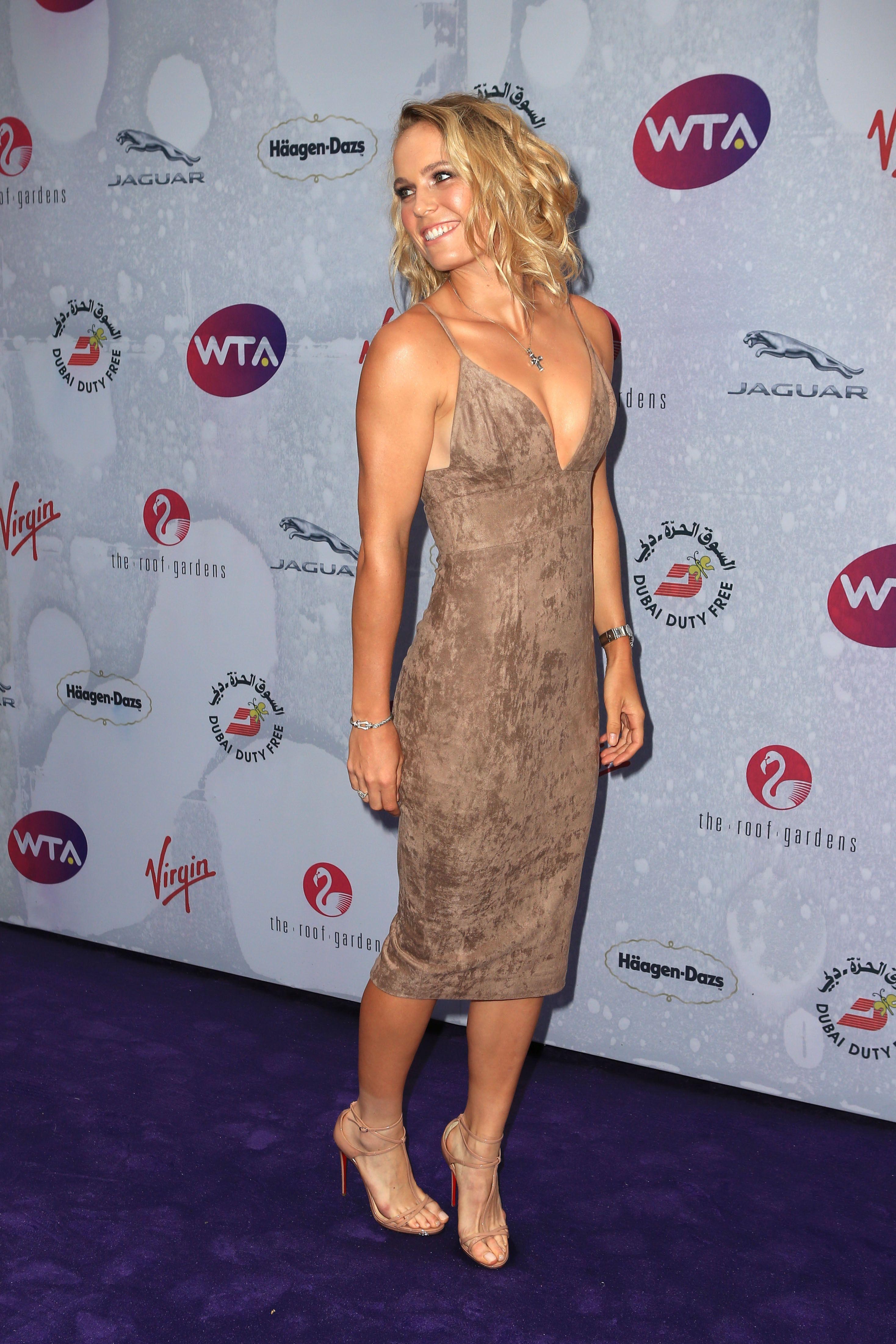 Caroline Wozniacki Feet