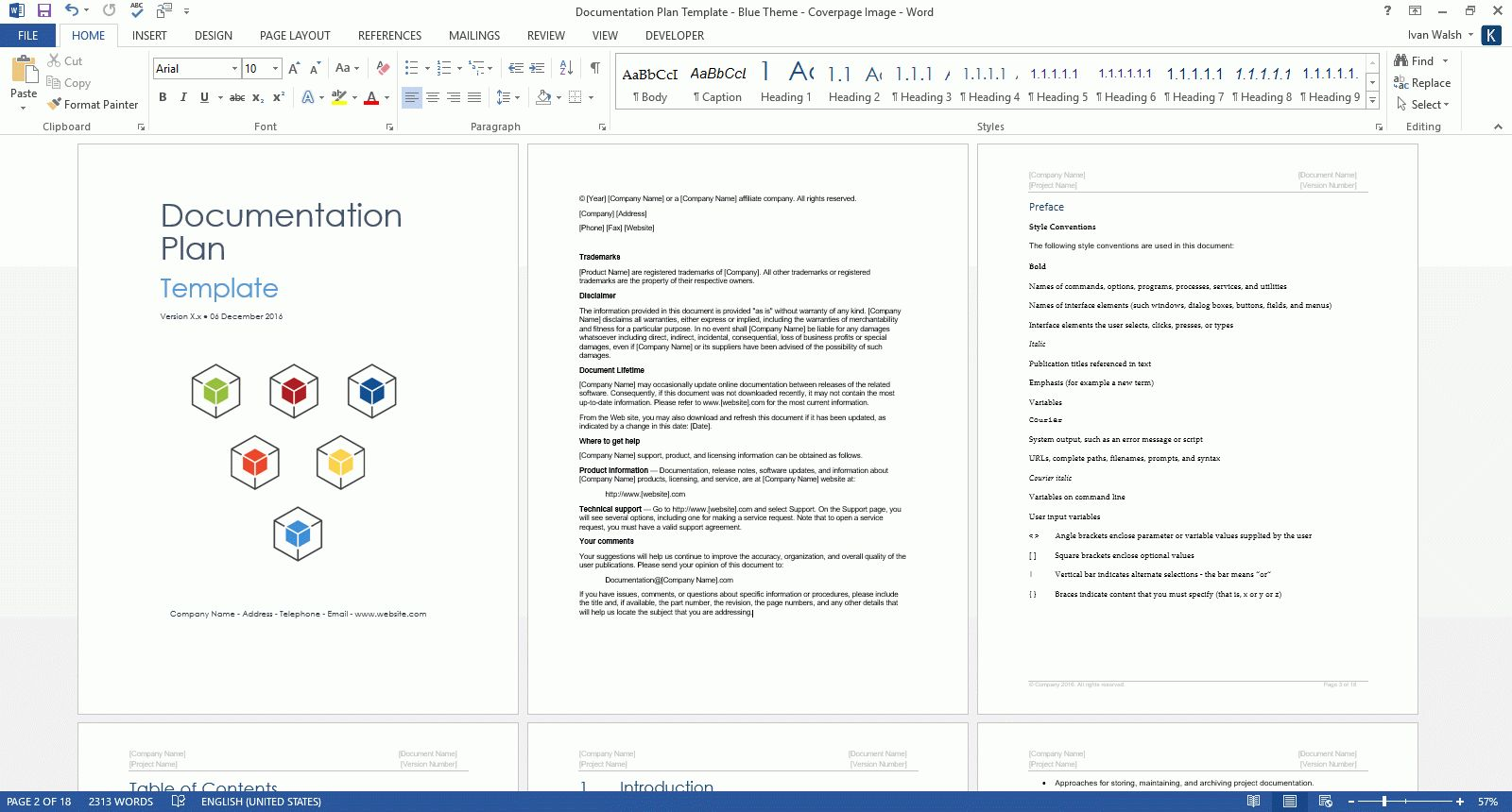 Documentation Plan Template Ms Word Excel Wbs Templates Inside