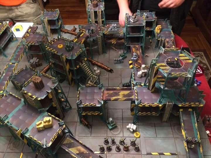 Image result for necromunda board necromunda pinterest for Decor 40k