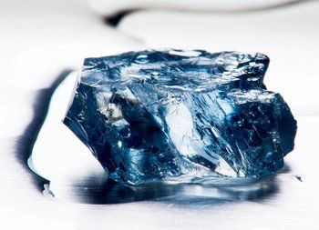 What is a blue diamond?