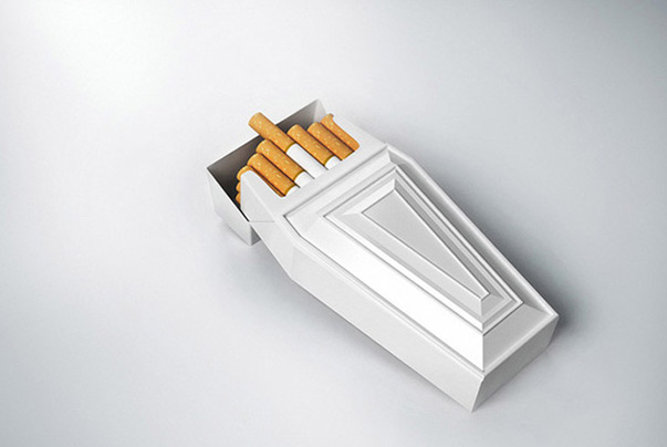 Cigarettes Over 45 Cool Packaging Examples