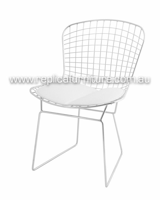Great Replica Harry Bertoia Wire Chair Steel | Dining Chairs Brisbane, Sydney,  Melbourne And Online