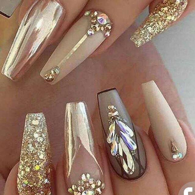 Pin de laura gonzalez en uñas | Pinterest | Diseños de uñas, Arte de ...