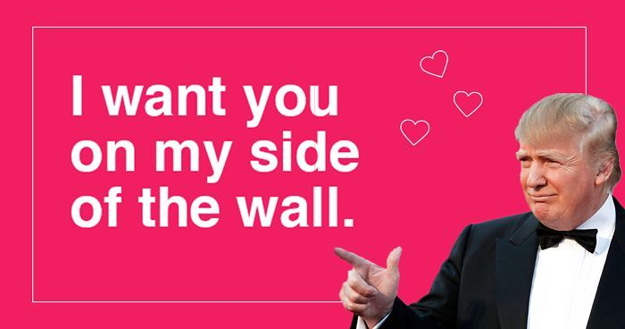 10+ Donald Trump Valentineu0027s Day Cards Are Going Viral, And They - valentines day cards