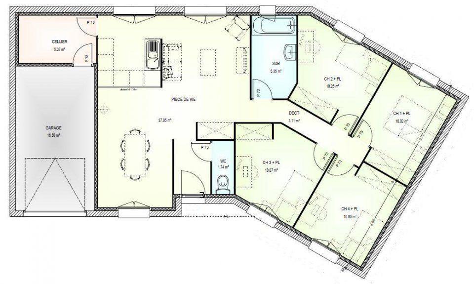 Modeles Et Plans De Maisons Modele A Etage