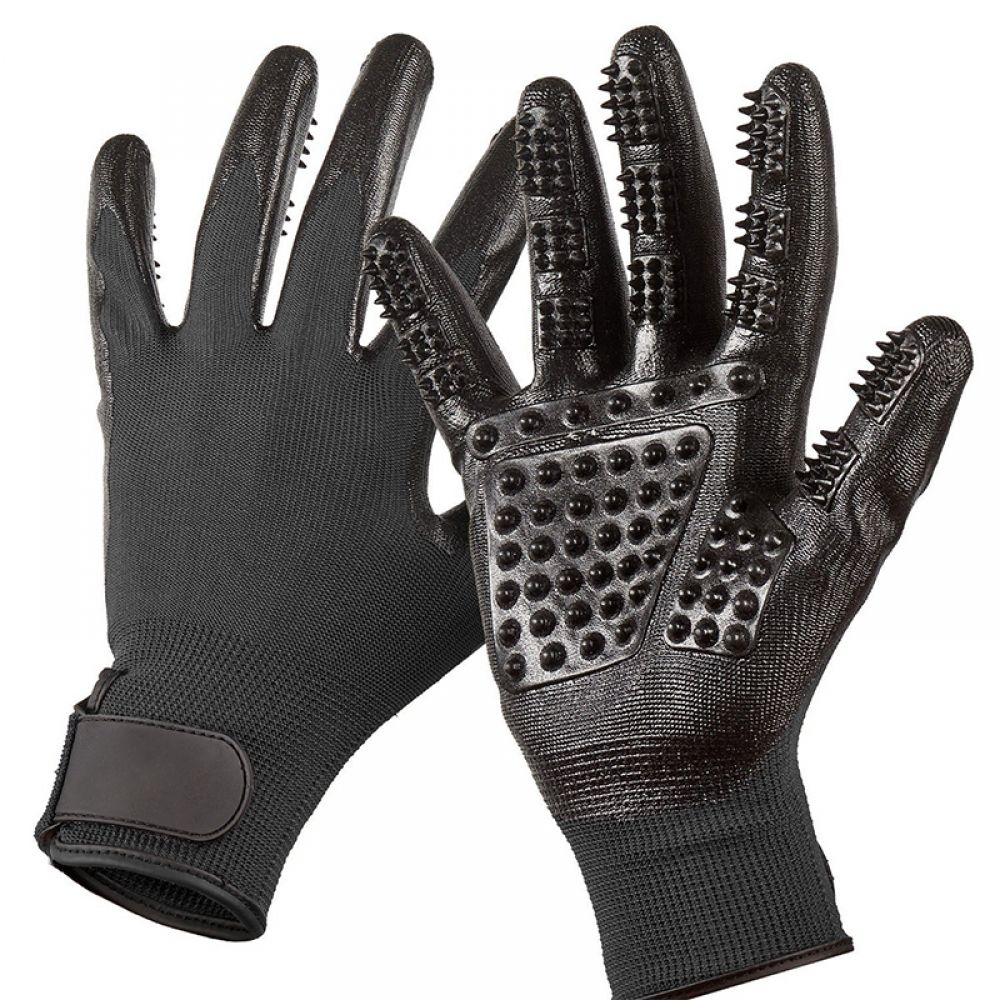 Universal Pet Grooming Gloves Pet grooming, Pet shed