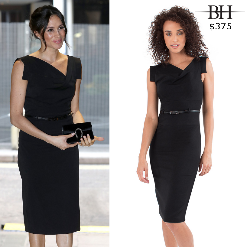 Black Halo Classic Jackie O Dress In 2020 Black Halo Jackie O Dress Meghan Markle Dress Black Halo