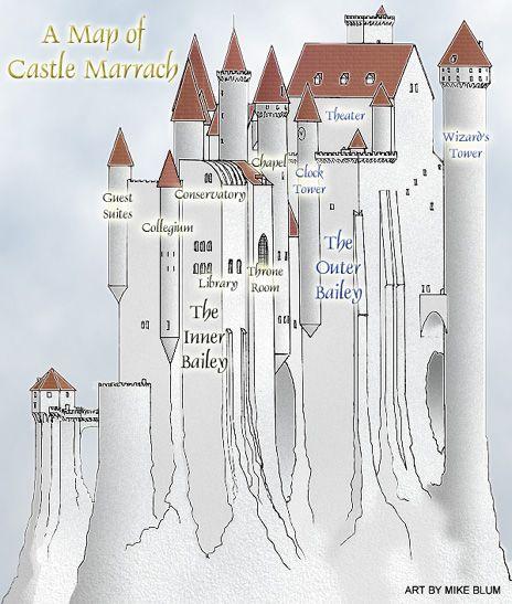 A Map of Castle Marrach  France Germany Netherlands  Pinterest