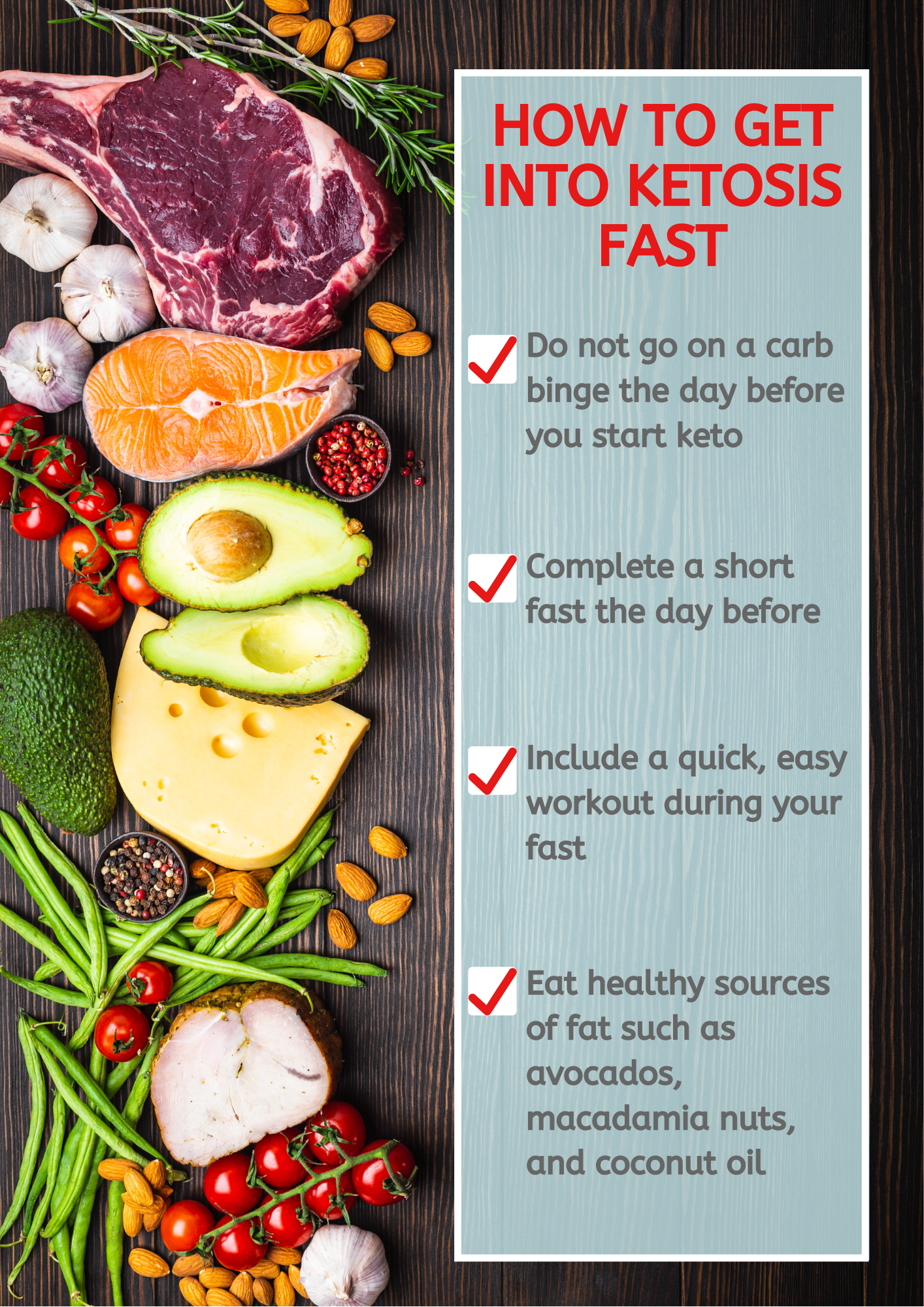 Top 4 Tips To Get Into Ketosis Fast Bethany Collaso Ketosis Fast Get Into Ketosis Fast Lentil Salad Recipes