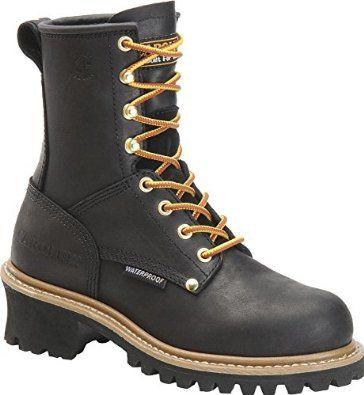 624ede1bc5e43 Amazon.com: Carolina Womens Steel Toe Waterproof Logger Boot: Shoes ...