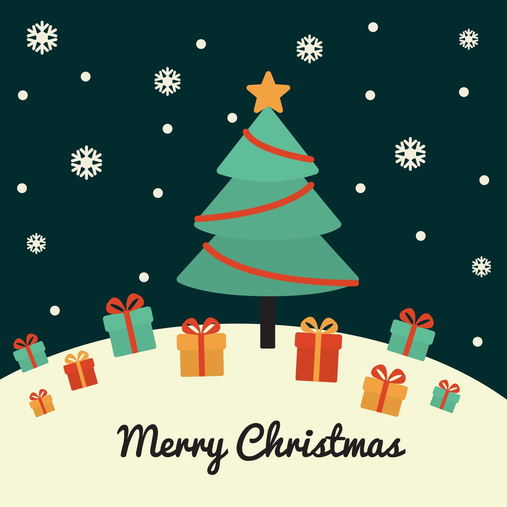 Freepik risorse grafiche per tutti biglietto natalizio