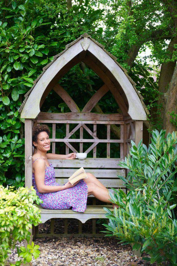 Voici nos exemples pour un banc de jardin bancs de - Banc de jardin en bois ...